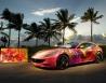 Ferrari FF cực nổi với nghệ thuật Painting