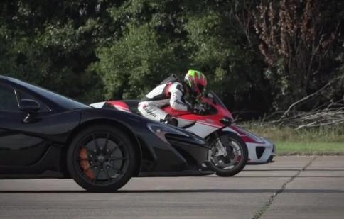 Xem Ducati 1199 Superleggera đấu với McLaren P1 và Porsche 918
