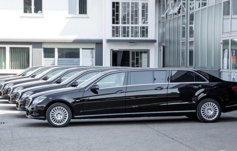 Lộ diện Mercedes-Benz limousine dài đến 6m