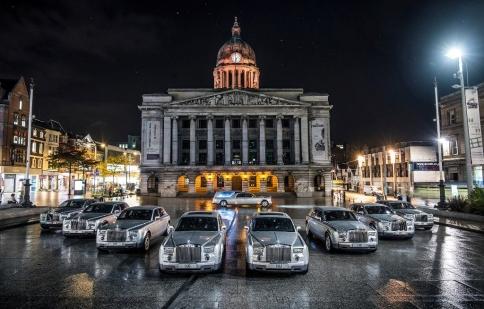 Xe tang Rolls-Royce Phantom dành riêng cho giới nhà giàu