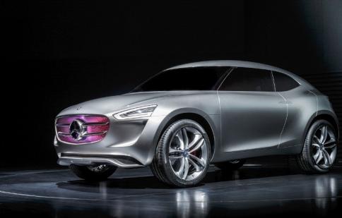 Mercedes Vision G-Code concept: pin mặt trời di động