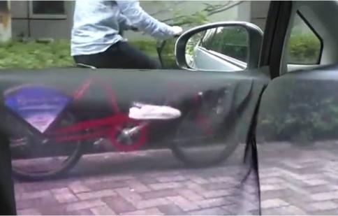 Xe hơi trong suốt nhìn được 360 độ