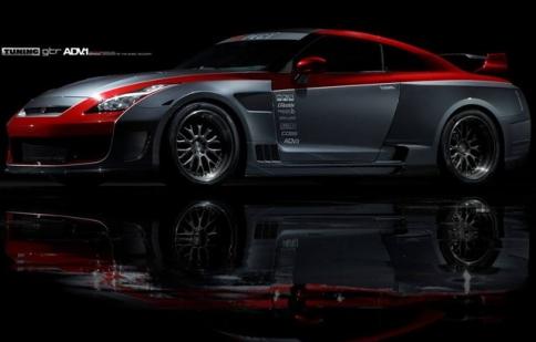 """""""Quái thú"""" Nissan GT-R độ body khủng"""