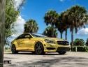 Ấn tượng với Mercedes-Benz CLS63 độ vàng chói
