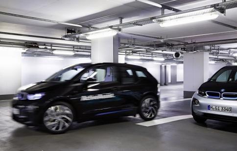BMW giới thiệu công nghệ đỗ xe thông minh