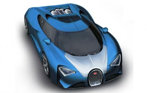 Hé lộ về Bugatti Chiron – người kế nhiệm Veyron