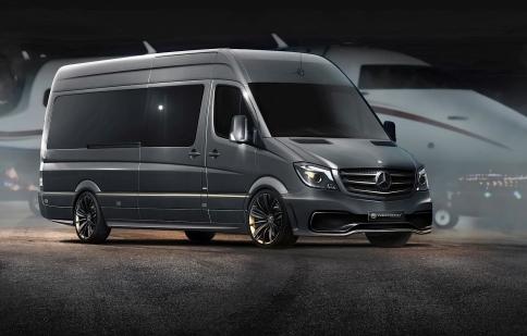 Mercedes Sprinter sang trọng bậc nhất dưới bàn tay Carlex Design