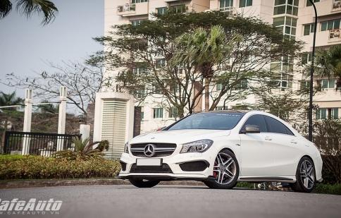 """""""Sói đầu đàn"""" Mercedes-Benz CLA45 AMG độ tại Hà Nội"""