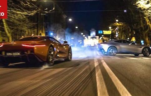 Điệp Viên 007 mới, sân chơi của siêu xe