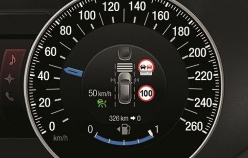 Ford giới thiệu hệ thống giới hạn tốc độ mới