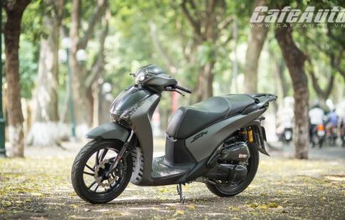 Honda SH Việt độ màu sơn xám lì độc đáo