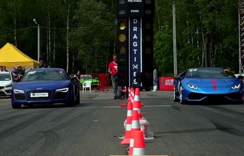 Lamborghini Huracan so kè với Audi R8