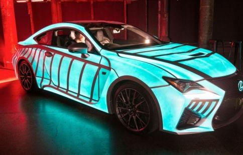 Lexus RC-F, xe đầu tiên có