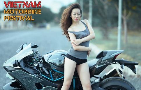 """Vietnam Motorbike Festival tung """"ảnh nóng"""" trước ngày khai cuộc"""