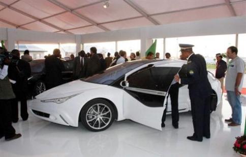Siêu xe của Tổng thống Libya an toàn nhất thế giới