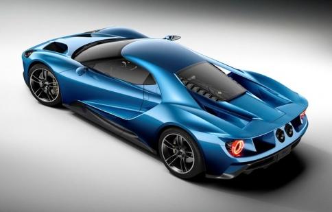 Ford GT thử nghiệm thiết kế khí động học mới