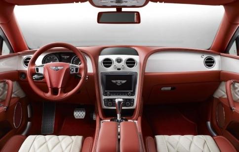 Bentley bổ sung nội thất sang trọng cho phiên bản Flying Spur