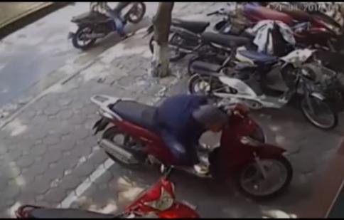 Tổng hợp những vụ trộm xe máy nhanh gọn nhất