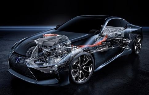 Tìm hiểu hệ thống hybrid đa cấp hoàn toàn mới trên Lexus LC500h