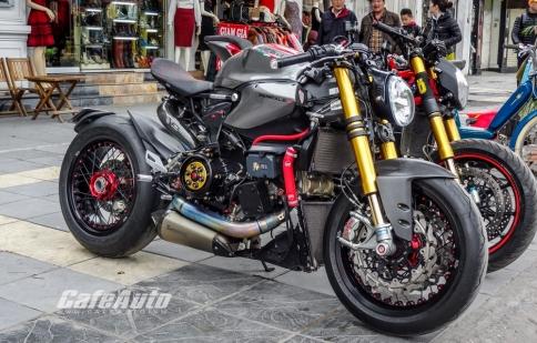 Chi tiết hàng độc Ducati 1199 Panigale S độ cafe racer tại Hà Nội