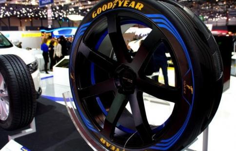 Goodyear tung ra loại lốp xe thông minh tại GMS 2016
