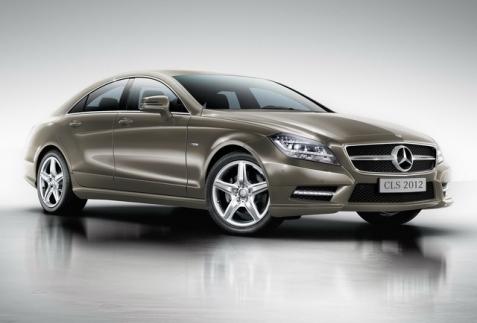 Mercedes CLS 350 2012 ra mắt