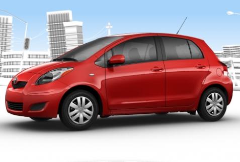Toyota Yaris ra mắt  phiên bản Mỹ 2012