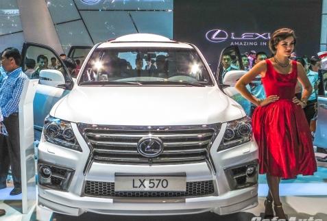 Lexus LX570 2014: tiếp nối thành công