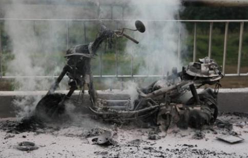 99,9%  xe máy ở Việt Nam không mua bảo hiểm vật chất