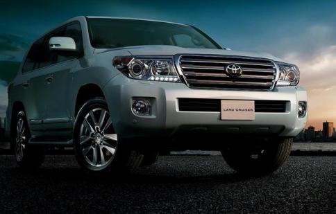 Lộ diện Land Cruiser 2012 mới