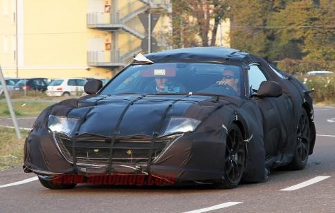 Ferrari sắp trình làng siêu xe mới tại Geneva