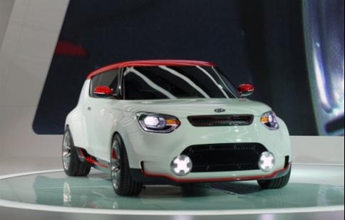 """Kia """"lộ diện"""" mẫu xe Track'ster tại triển lãm"""