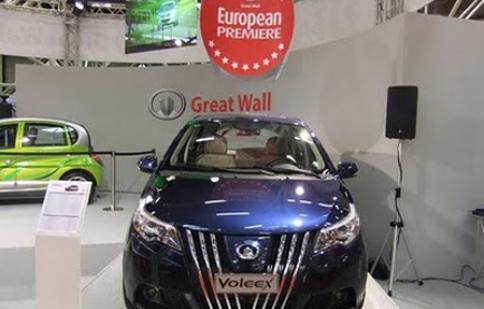 Xe hơi Trung Quốc đổ bộ vào châu Âu