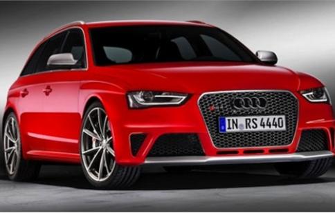 Audi RS4 Avant chính thức ra mắt