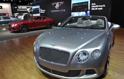 Bentley khởi đầu năm 2012 đầy thuận lợi