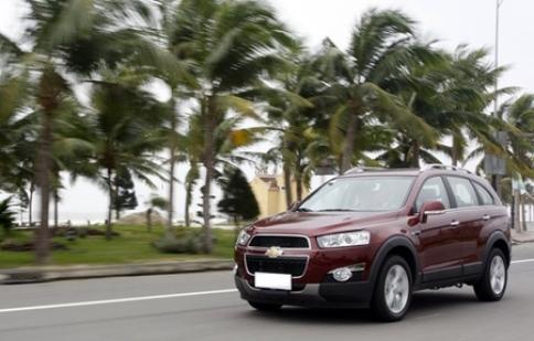 Chevrolet Captiva bị triệu hồi vì lỗi phanh