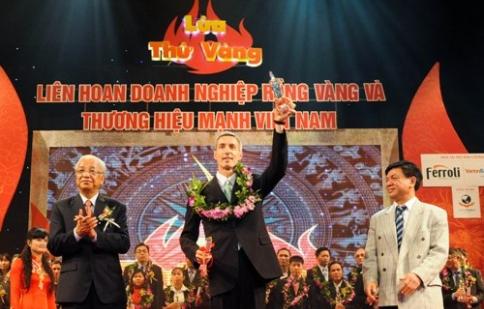 Ford Việt Nam nhận giải Rồng Vàng lần thứ 10