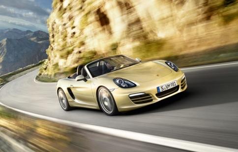 Porsche ra mắt Boxster mới tại Geneva