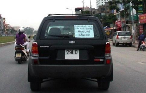 Khi hãng ôtô kêu gọi… không còi
