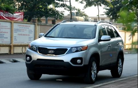 Thaco Kia ưu đãi khách hàng khi mua xe Kia Sorento