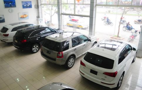 Thị trường ô tô: Khuyến mại vẫn ế