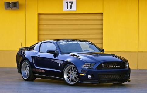 Khám phá siêu Mustang Shelby 1000 trước giờ ra mắt