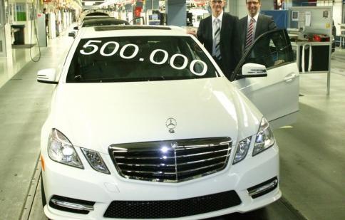 Mercedes-Benz xuất xưởng chiếc E-Class thứ 500.000
