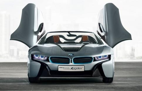 BMW i8 Spyder Concept lộ diện