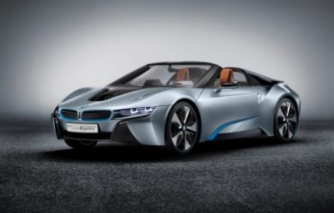 BMW i8 Spyder sẽ được sản xuất năm 2015