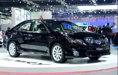 Toyota Camry 2012 sắp về Việt Nam