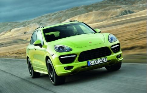 Porsche sắp trình làng Cayenne GTS 2013
