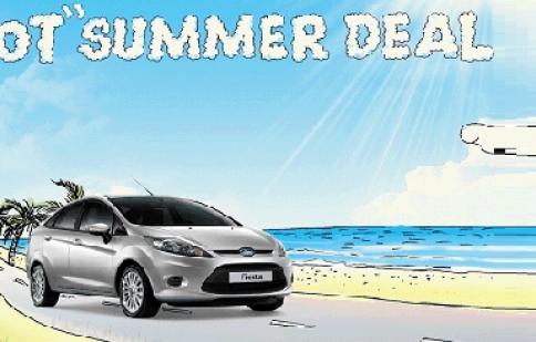 Ford Việt Nam khởi động chương trình Hot Summer Deal