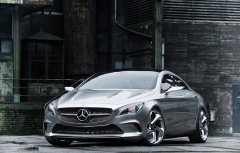 Mercedes-Benz công bố hình ảnh Concept Style Coupe