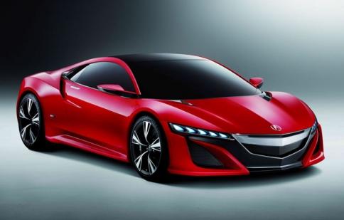 Acura NSX Concept nổi bật trong bộ cánh đỏ